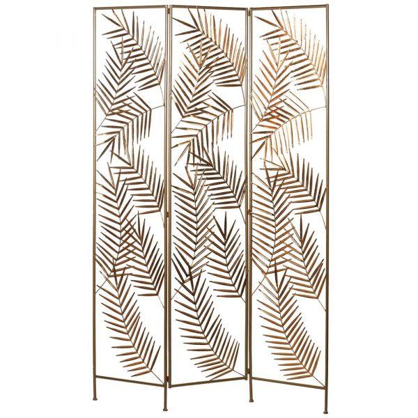Palm Leaf Gold Screen
