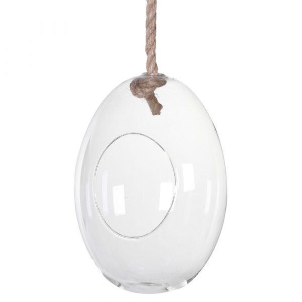 Small Glass Egg Terrarium