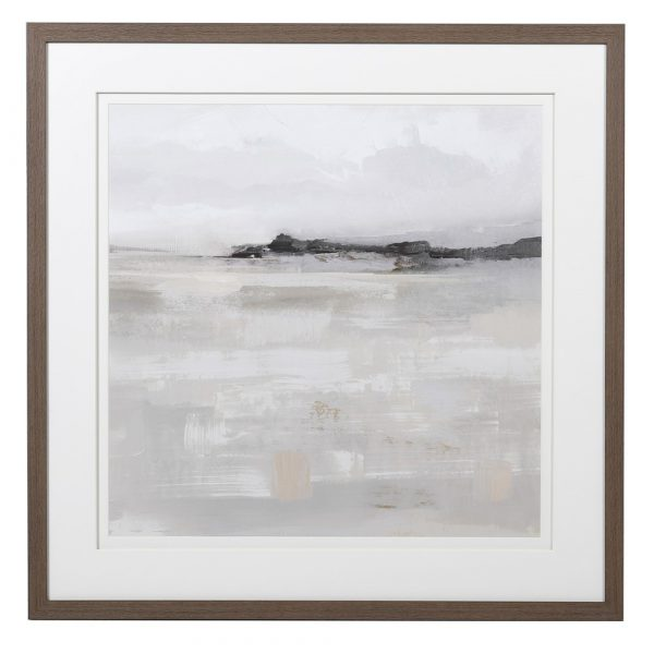 Misty Landscape Picture