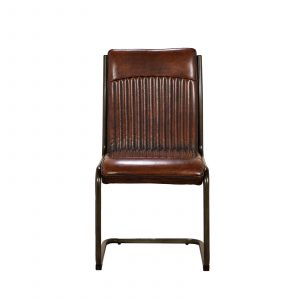 Camden Dining Chair With Metal Frame