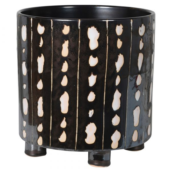 Black & White Spot Planter
