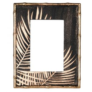 Golden Palm Photo Frame
