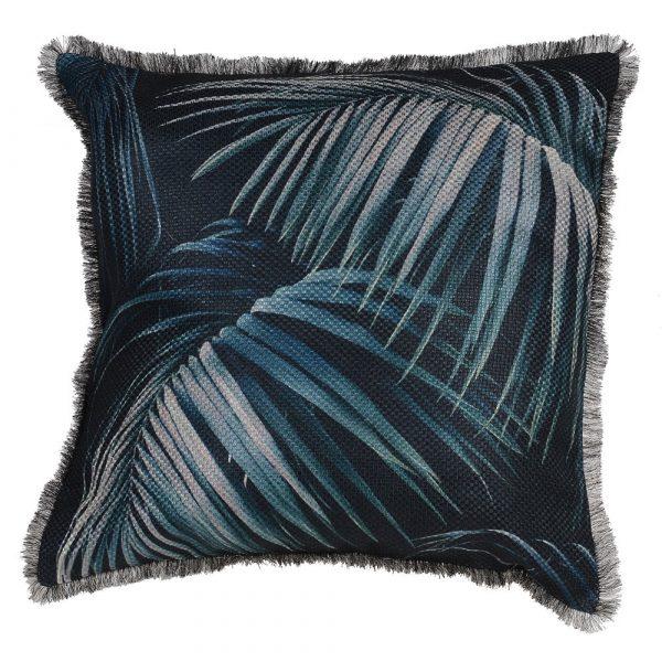 Tropical Palm Leaf Cushion Cover