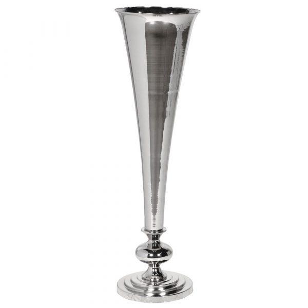 Nickel Plated Vase