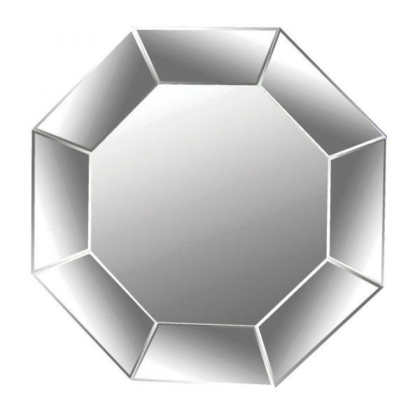 Octagonal Mitred Mirror