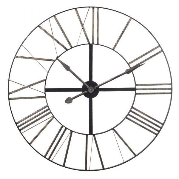 Distressed Metal Clock