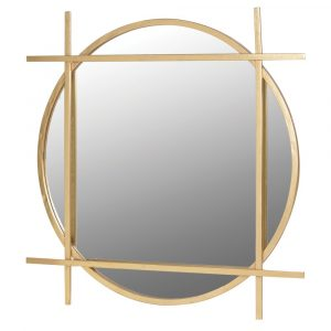 Gold Round/Square Mirror