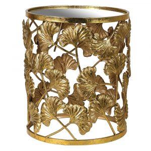 Chelsea Gold Leaf Side Table