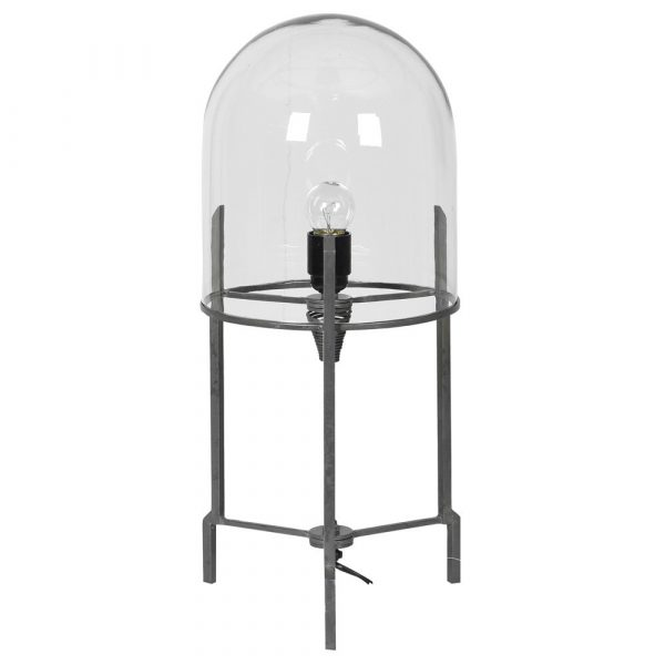 Grey Bubble Table Lamp