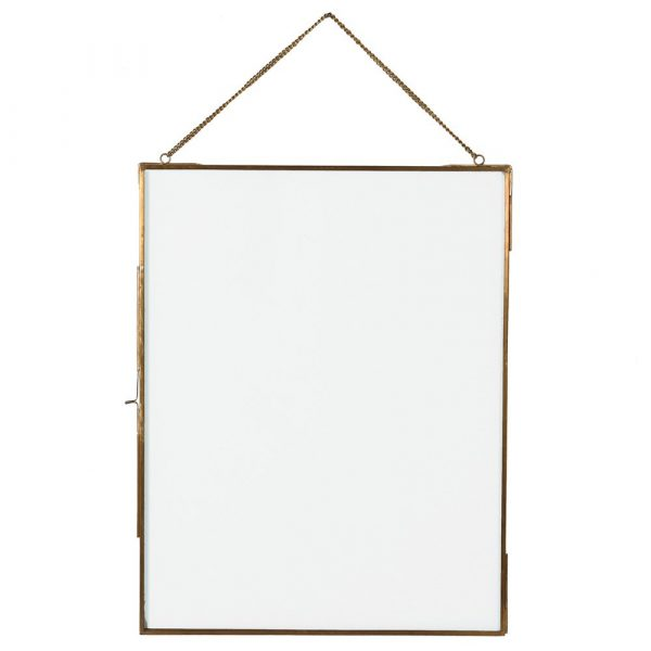 Gold Photo frame With Chain