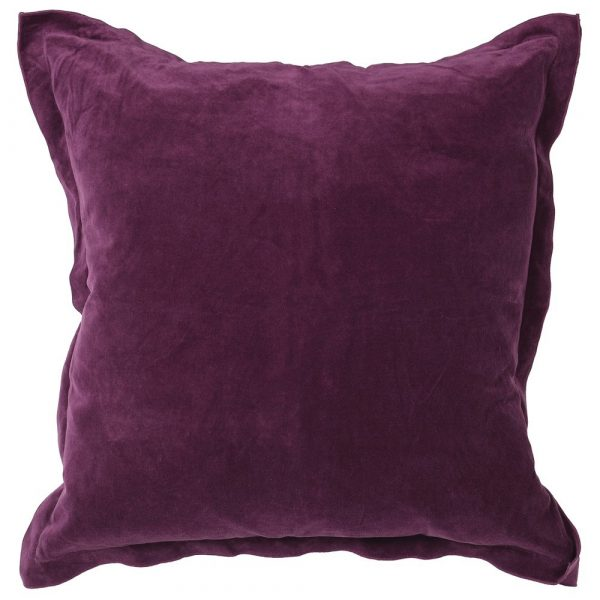 Purple/Linen Cushion Cover