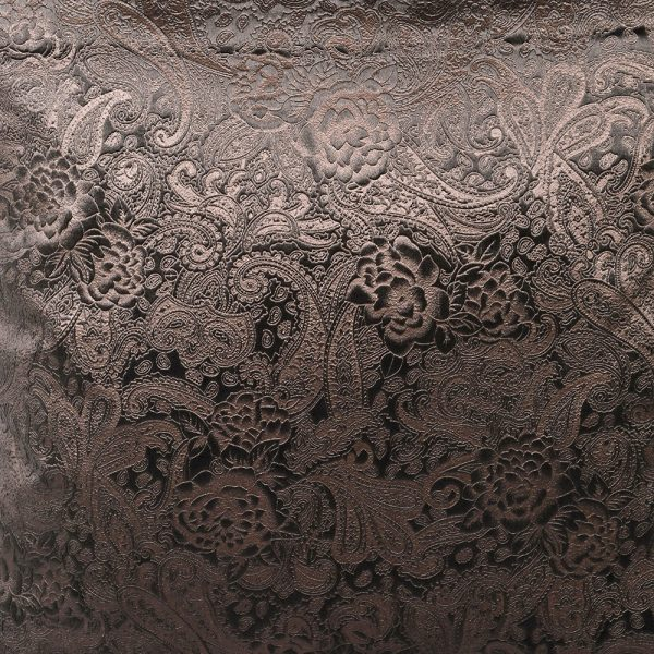 Mocha Paisley Cushion Cover Only