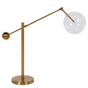Glass Ball Desk Lamp
