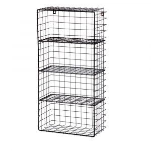 Wire Industrial Wall Rack