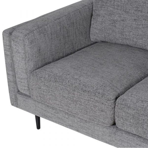 Notting Hill Grey 2 Seat Sofa