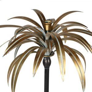 Large Palm Candle Holder