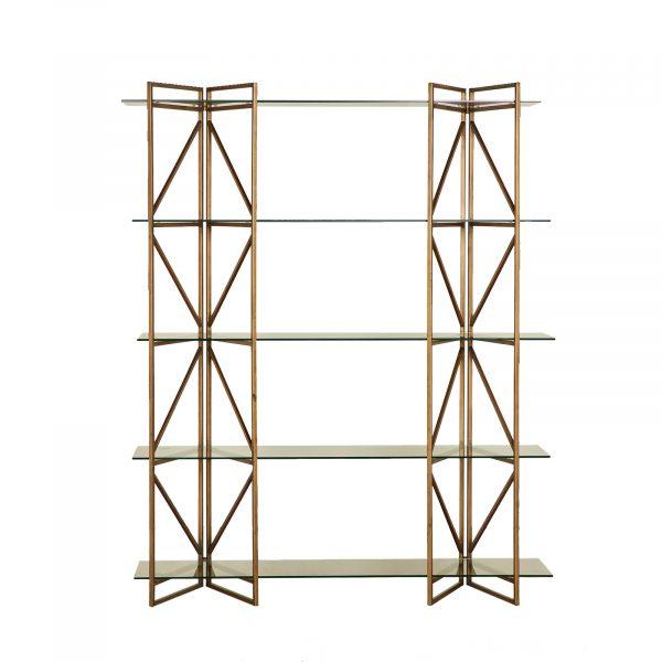 Chelsea Glass Screen Style Multi Shelf