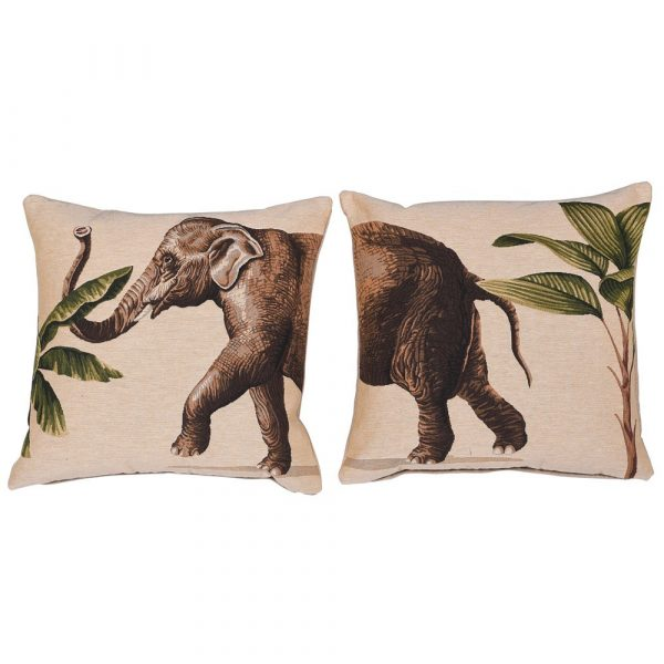 Elephant Cushion Two Part Covers 45 x 45 cm