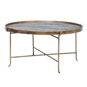 Round Metal Detailed Table