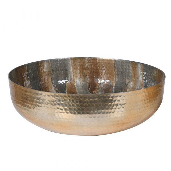 Champagne Enamel Bowl