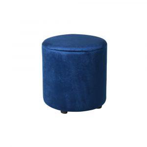 Cobalt Blue Footstool