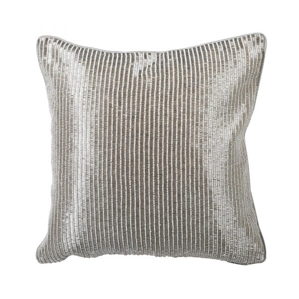 Sequin Hand-Embraided Cushion Cover