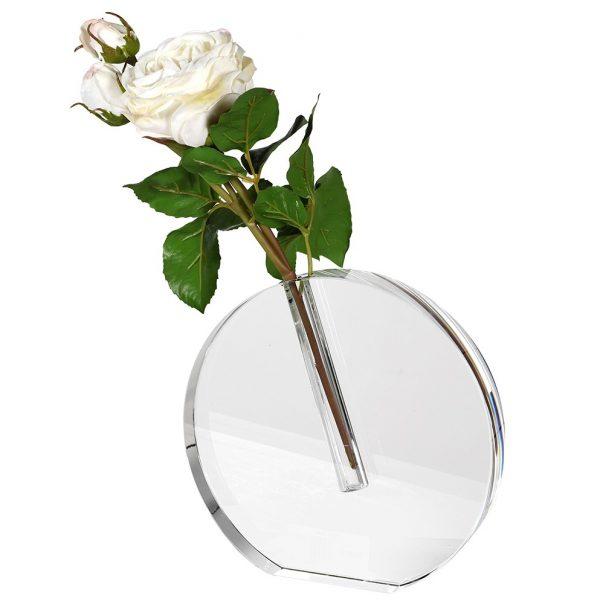 Crystal Stem Vase