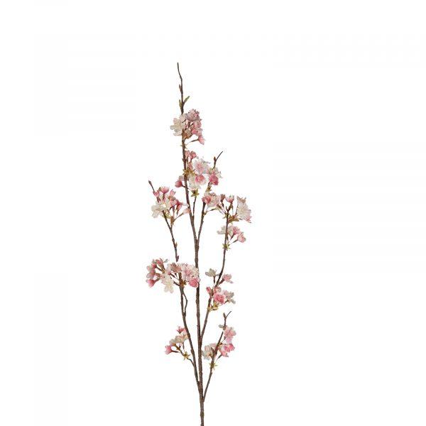 Pink And Cream Cherry Blossom Ruffled