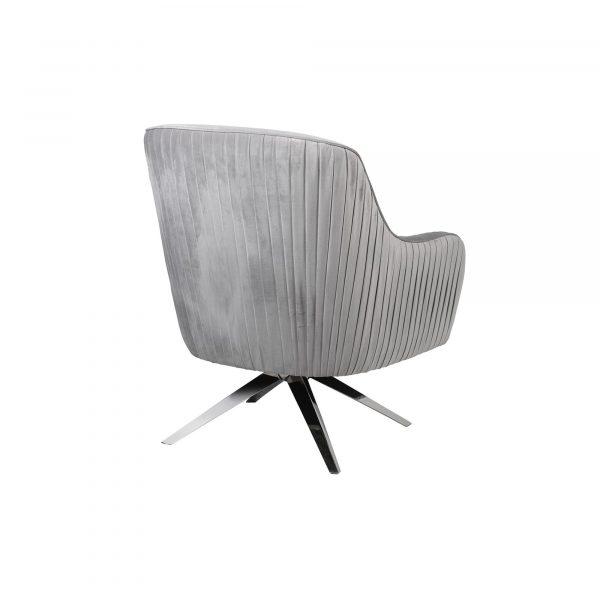Berkeley Swivel Chair Silver