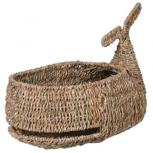 Whale Sea Grass Basket