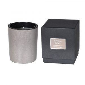 Parma Grey Candle with Box