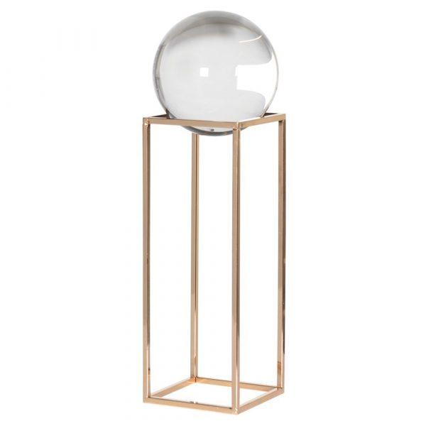 Large Crystal Ball On Frame