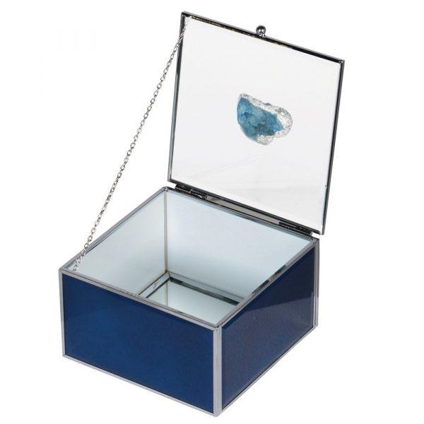 Agate Handle Jewellery Box