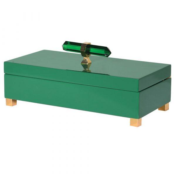 Jade Green Jewellery Box