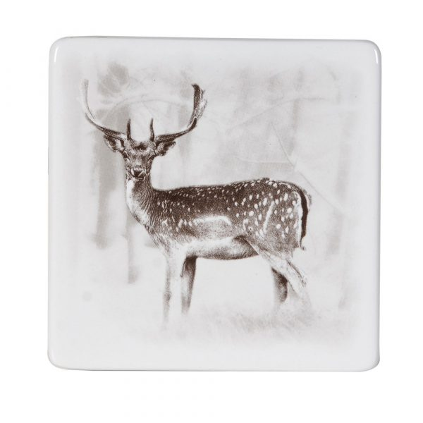 Set of 4 Male/Female Deer Coasters