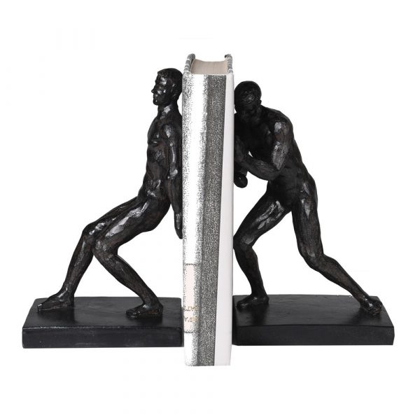 Push/Pull Bookends Set