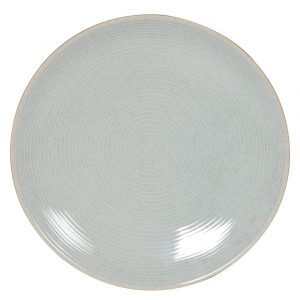 Set of 4 Grey Small Dinner Plate