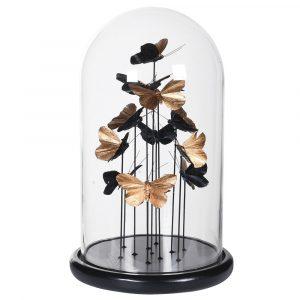 Golden Butterflies Globe