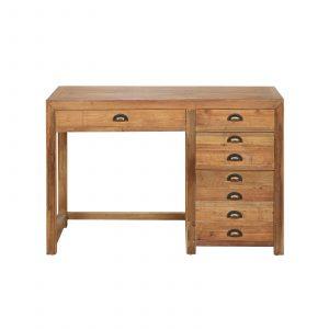 Camden Rustic Pine Desk
