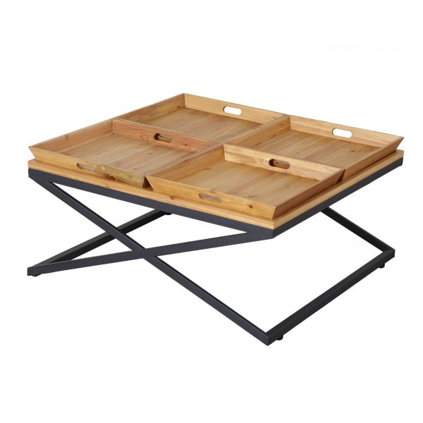 Camden 4 Trays Coffee Table