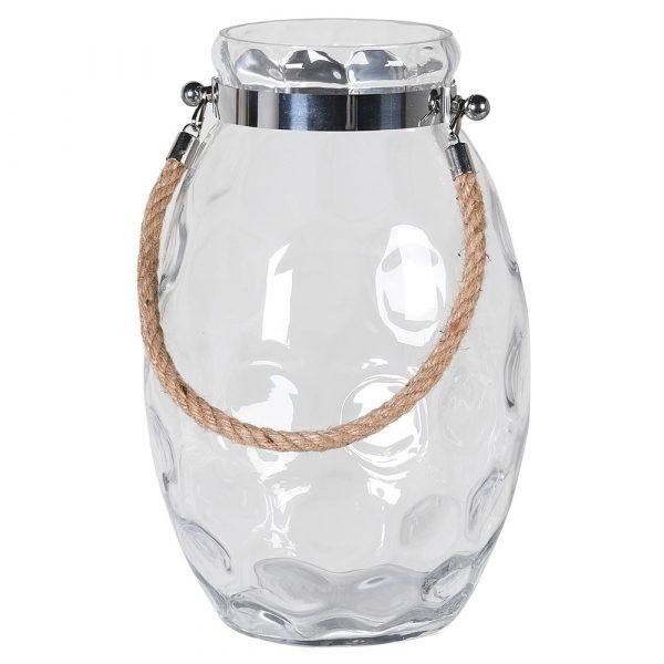Medium Hurricane Jar With Rope